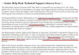 Help Desk Resume Sample Complete Guide 20 Examples Help Desk Resume