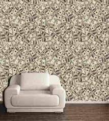wall decor dollar design pvc free wallpaper