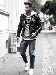 how to wear a leather jacket male leather jacket outfits clothing styles