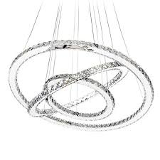 MEEROSEE MD8825-864MNCW Crystal <b>Modern LED</b> Ceiling ...