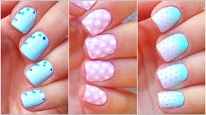 3 Dots Nail Art Designs for BEGINNERS - YouTube