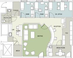 Chiropractic Office Floor Plan Multi Doctor Semiopen Adjusting Doctor Office Floor Plan