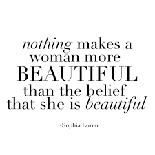 Big Is Beautiful Quotes Best of Nothing Makes A Woman More Beautiful Than The Belief That She Is