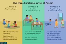 If Then Chart Autism Making Sense Of The 3 Levels Of Autism