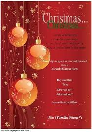 Microsoft Christmas Party Free Christmas Party Flyer Templates For Microsoft Word Free