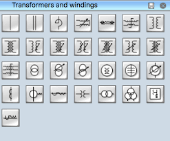electrical symbols electrical schematic symbols electrical symbols transformers and windings