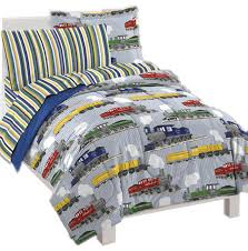 vintage trains bedding set railroad steam engines bed contemporary
