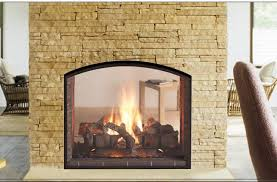 escape seethrough gas fireplace see through gas fireplace p56