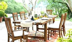 pottery barn patio furniture reviews torrey outdoor when does go on dining table by