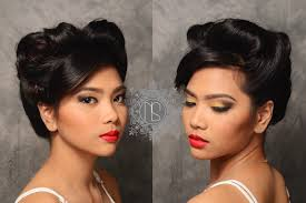 olps grad ball prom makeup prom hairstyle messy updo tousled updo