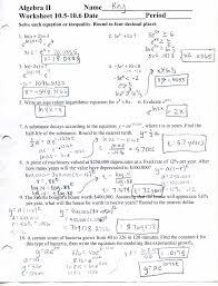 glencoe algebra 2 worksheet answers