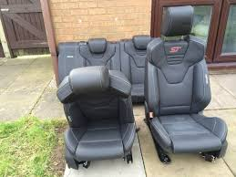 ford focus st3 recaro leather seats