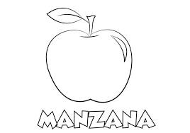 Manzanas Para Colorear Colorear Dibujo Manzana Para Imprimir Colorear E Imprimir