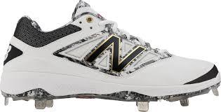 new balance metal baseball cleats. new balance men\u0027s dustin pedroia 4040 v3 metal baseball cleats n