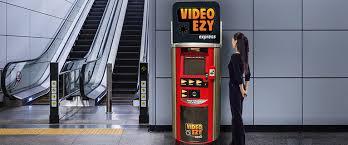 Rent A Dvd Vending Machine Impressive Video Ezy Express
