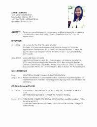 College Student Resume For Ojt The Best Letter Sample