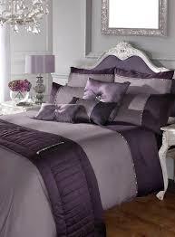 kylie minogue yarona mauve king size duvet cover 2 pillowcases new