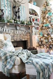 decorate your home for christmas in turquoise home design pedia