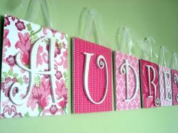baby nursery letters for baby nursery bedroom cute room name ideas as decorations girl pink