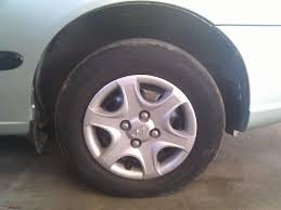 Hyundai Accent 2001 Tyre Size