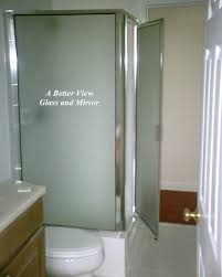 framed glass shower door with inline panel and return panel c shower finish and