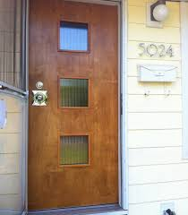 mid century modern front doors for front door 1950 style