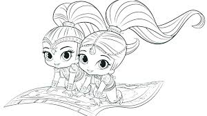 Nick Junior Coloring Pages Bubble Guppies Printable Coloring Pages