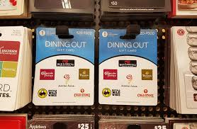dining out gift card