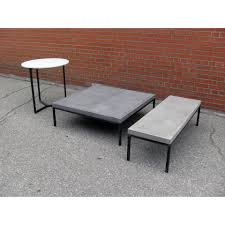Cover or store indoors during inclement weather and when not in use. Concrete Coffee Table Stylegarage