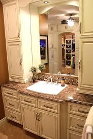 dark brown bathroom wall cabinet small bathroom design and decoration using white ivory wood bathroom vanity