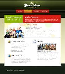 Websites Templates Fascinating 48 Summer Camp Website Templates Template Website And Camping