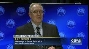 eric buehrer discusses prayer public schools video c span org