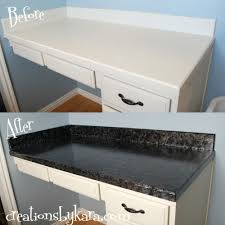 kitchen countertop paintDIY faux granite countertops with Giani
