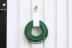 best garden hose hanger options for an