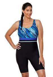 Aquatard By Aquabelle Plus Size One Piece Swimsuits Roamans