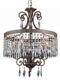 living fancy bronze and crystal chandelier 21 sutton 6light in venetian 536025457 oil rubbed