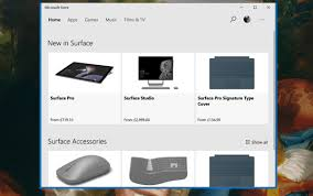 Microsofts Store App To Soon Start Selling Surfaces Mspoweruser