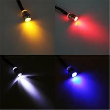 Pilot Boat Lights Details About 10pack 12v 8mm Led Panel Indicator Lights Pilot Dash Directional Car Truck Boat