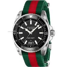"men s gucci dive watch ya136206 watch shop comâ""¢ mens gucci dive watch ya136206"