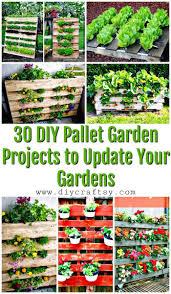 30 diy pallet garden projects to update your gardens pallet ideas pallet furniture ideas