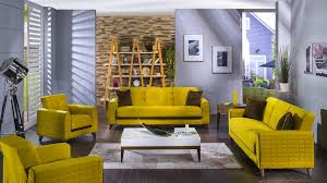 grey and yellow furniture. Grey And Yellowving Room Furniture Paint Colours Set Area Rug Green Curtains Print Living Category Yellow