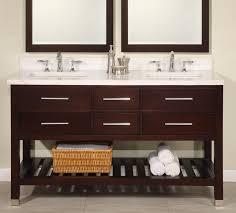 60 double sink bathroom vanities. 60 Inch Double Sink Modern Cherry Bathroom Vanity With Open Shelf And  Choice Of Counter Top UVEIPR60 Double Sink Bathroom Vanities A