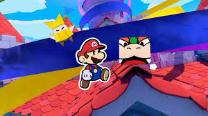 first paper mario origami king review
