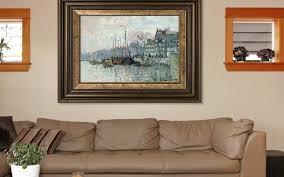best location to hang a digital art frame