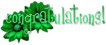 Image result for glitter congratulations gif