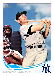 custom baseball cards cards that never were 2013 topps mickey mantle