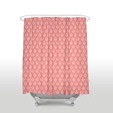 Coral Design Shower Curtain Us 16 97 45 Off New Waterproof Moroccan Design Classic Printed Shower Curtain Polyester Fabric Coral Red Bathroom Curtains For Home Decorations In