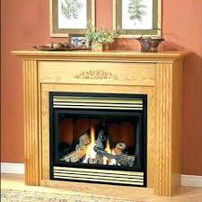 natural gas vent free fireplace s savannah oak 30 in vent free natural gas fireplace logs
