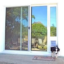 sliding glass door dog door insert exterior door with pet door built in door with door