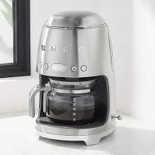 Prix régulier £179.00 prix réduit £175.00. Smeg Stainless Steel Drip Coffeemaker Coffee Maker Smeg Retro Refrigerator